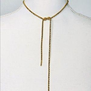 """SUGARFIX by BaubleBar Necklace 13"""" Chain Twist"""